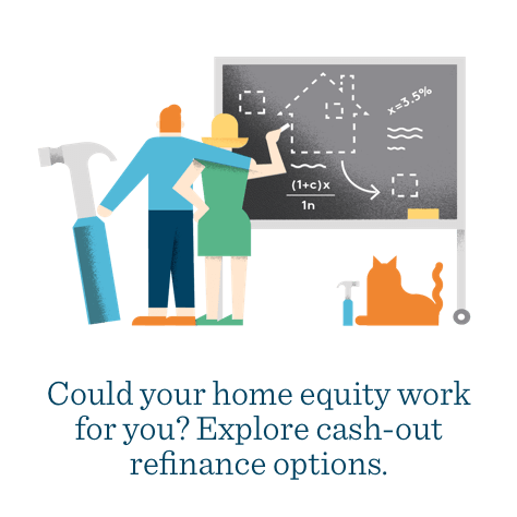 REFINANCE YOUR HOME | Could your home equity work for you? Explore cash-out refinance options - Mr. Cooper Home Loans, formerly Nationstar Mortgage